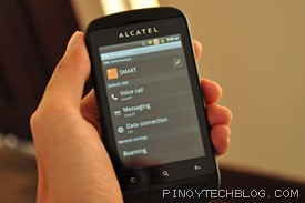 Alcatel Blaze Glory 918N sim management 2