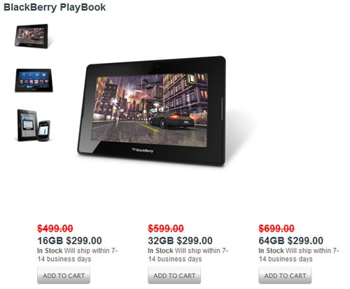 PlayBook Sale
