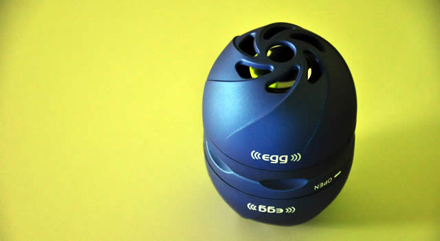 EGG Dual Capsule Speakers Review, huge sound on a small package