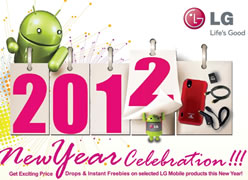 New Year price drop on select LG mobile phones