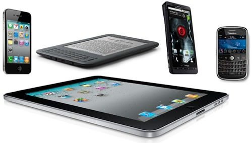 tablets smartphones