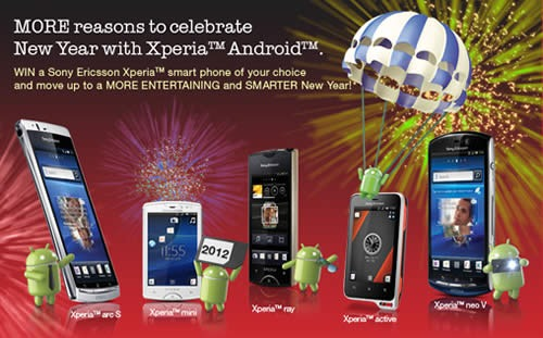 xperia new year promo
