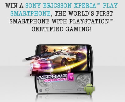 xperia play contest