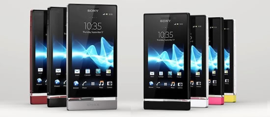 Sony Xperia P and U