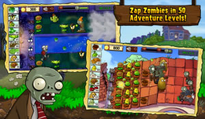 Plants vs. Zombies makes its way into the BlackBerry PlayBook