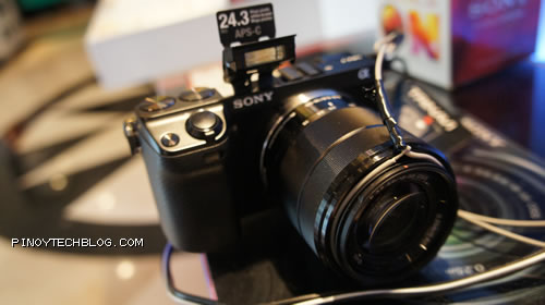 Sony officially launches the Alpha NEX-7 camera in the country