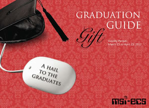 MSI-ECS 2012 Graduation Gift Guide