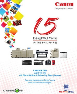 canon 15 years