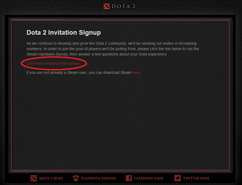 Dota 2 Beta Key Giveaway Playdota.