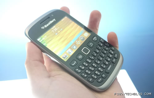 RIM and Globe launches latest Blackberry Curve smartphones