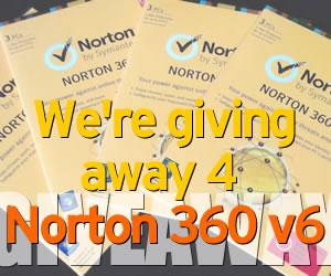 Winners of our Norton 360 v6 Giveaway
