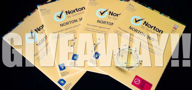 norton 360 v6 GIVEAWAY featured