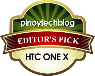 HTC One X Editors Pick