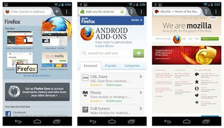 Mozilla Firefox now available on Android! - Techglimpse