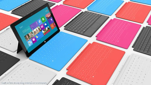 microsoft touch type covers