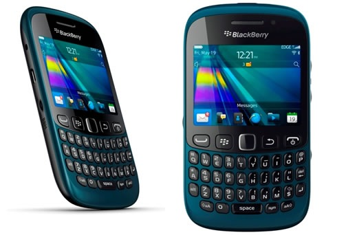 BlackBerry Curve Teal Blue