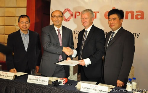 PLDT Ciena contract signing