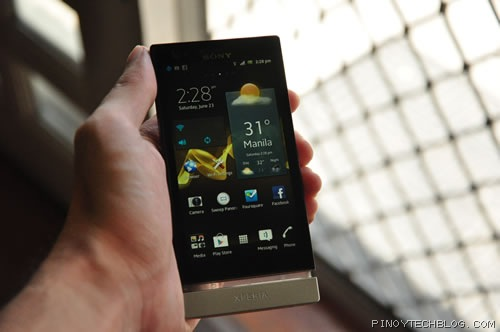 Sony Xperia P whitemagic
