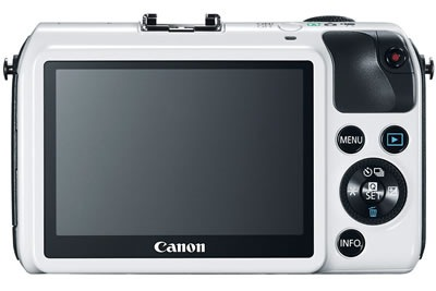 canon eos m back