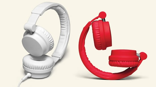 urbanears zinken white red