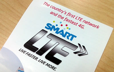 Smart LTE launch