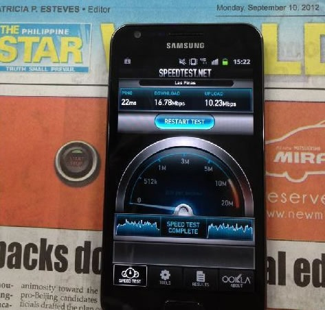 Smart LTE Test Galaxy S2