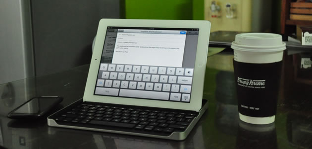 Logitech Keyboard Case by ZAGG for iPad 2 Review