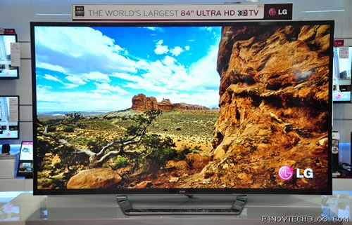 LG 84-inch Ultra HD 
