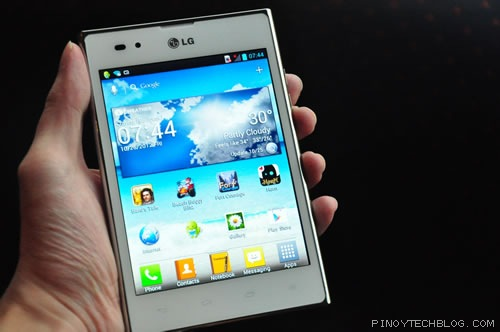 First Impressions: LG Optimus Vu