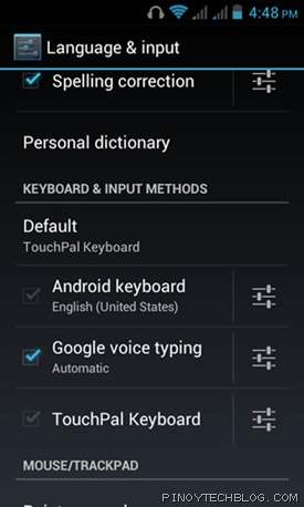 cm titan touchpal 2
