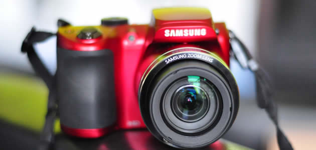 Samsung WB100 super-zoom camera review