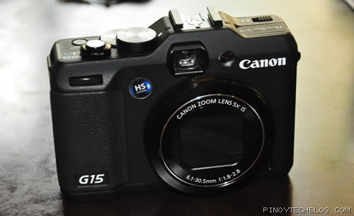 Canon PowerShot G15, now with f/1.8 lens and more compact body
