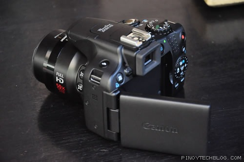 The Canon PowerShot SX50 HS is already available in stores with a