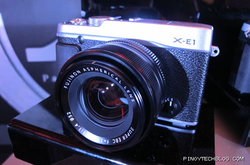 Introducing Fujifilm's X series cameras