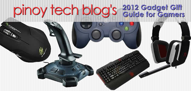 PTB's 2012 Gadget Gift Guide for Gamers