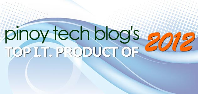 PTB's Top IT Product of 2012