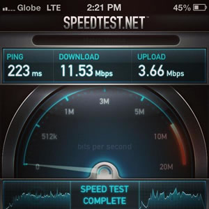 Globe and Smart's iPhone 5 current LTE plan, who's the better network?