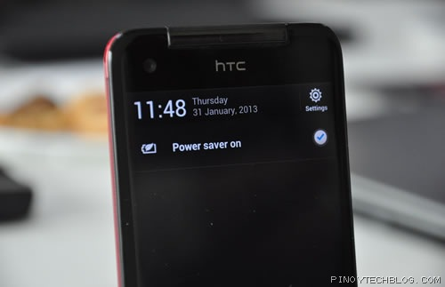 HTC Butterfly Power Saver Mode