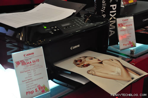 Ink Efficient E610: Print. Scan. Copy. Fax. - Php5,995