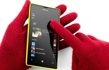 Nokia Lumia 520 super sensitive touch