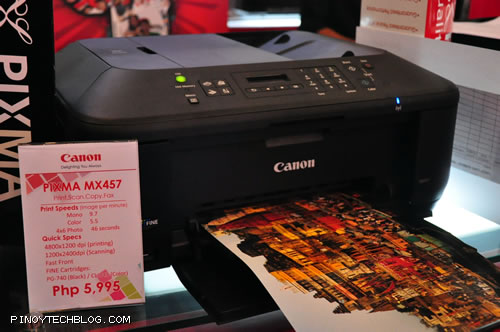 MX 457: Print. Scan. Copy. Fax. WiFi - Php5,995