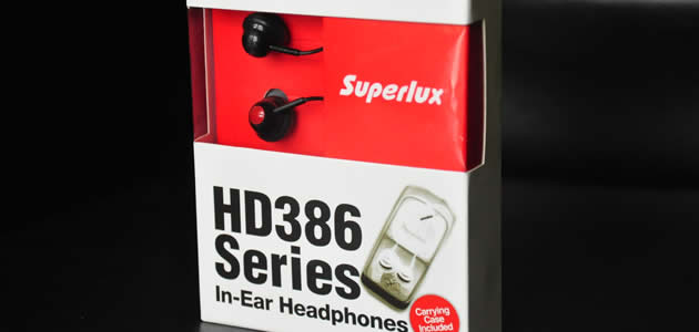 Superlux HD386 Series In-Ear Headphones Review