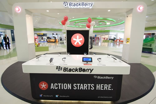 BlackBerry Experience Pod