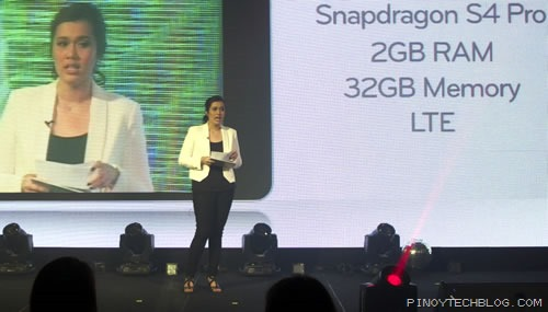 Faith Mijares, LG Philippines Product Manager for Mobile Communications