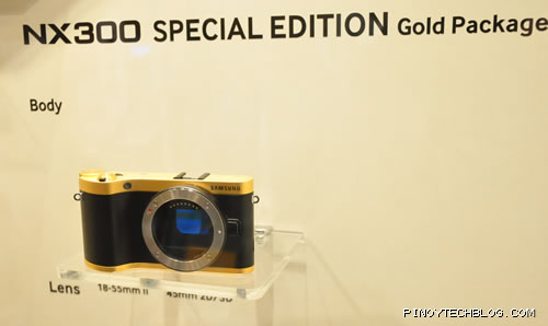 Samsung NX300 Gold