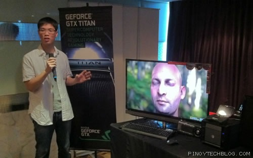 NVIDIAs Alex Chang for GTX TITAN