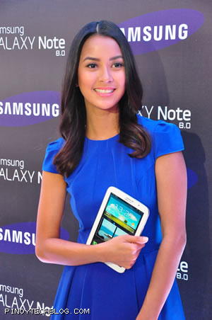 Popular multi-media personality Bianca Gonzales is Samsung Galaxy Note 8's brand ambassador