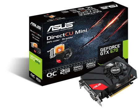 ASUS GeForce GTX 670 DirectCU Mini with box