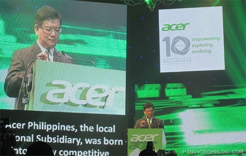 Acer Philippines celebrated its 10 th year anniversary last May 21