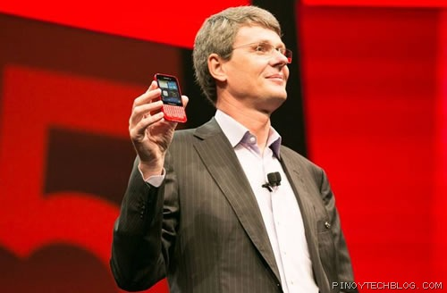 BlackBerry CEO with the Q5